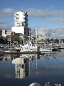 Waterfront of Nanaimo, BC.